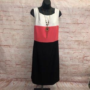 Black label by Evan picone dress suit size 16